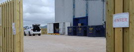 Containerized Sanitation - Waste Drop Off Centre in Stephenville, NL