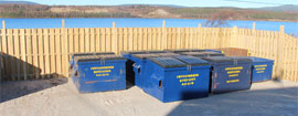 Containers of all sizes can be delivered to your home, business or job site!